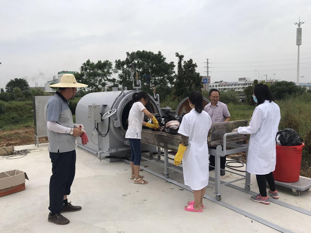 广西扬翔动物尸体处理器项目 完美竣工