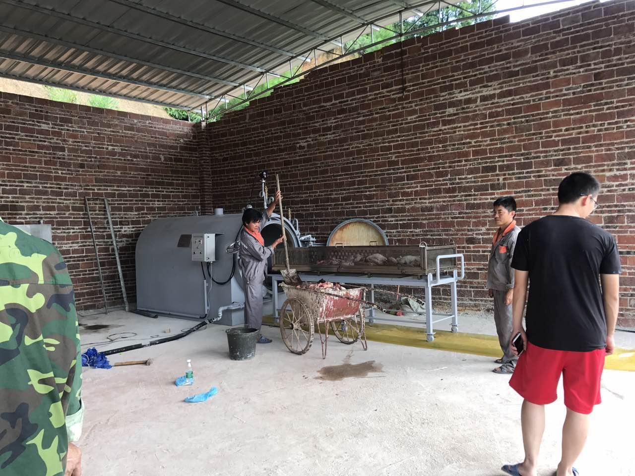 扬翔亚计山楼房养猪1期 焚烧炉 工程案例 第7张