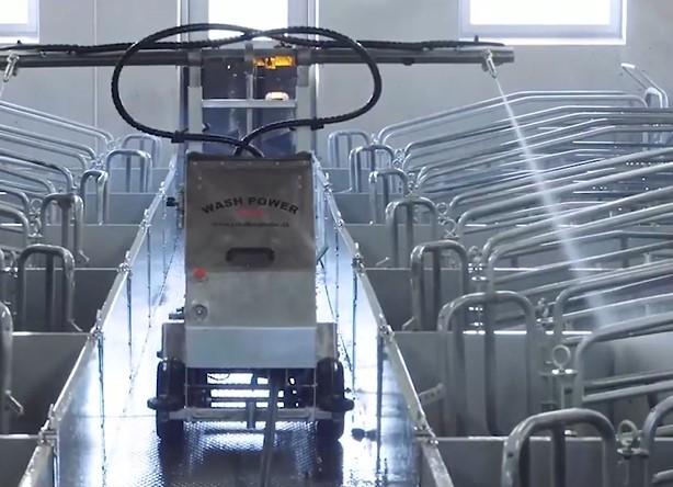 智能清洁机器人的出现,令你的猪舍焕然一新