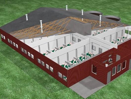 智能自动化喷雾消毒系统,给养猪户最健康的养殖环境