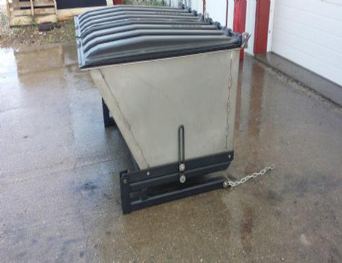 不锈钢死猪转运箱,降低猪场防疫风险