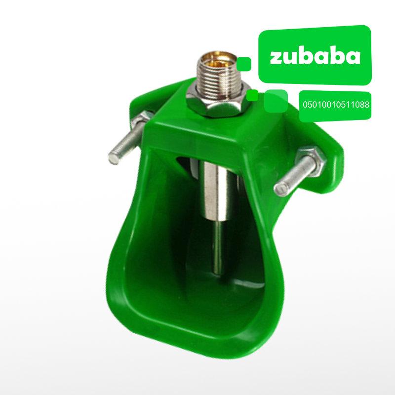 绿色小猪塑料饮水碗 保育舍 饮水碗