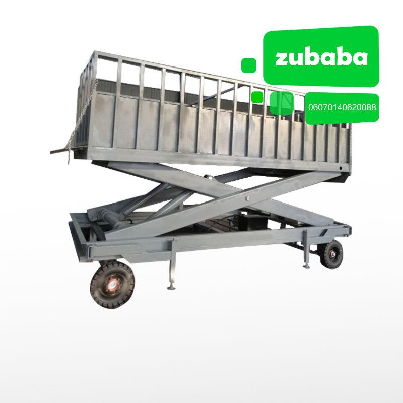 机械伸缩式上猪台 育肥舍 生物安全 第1张